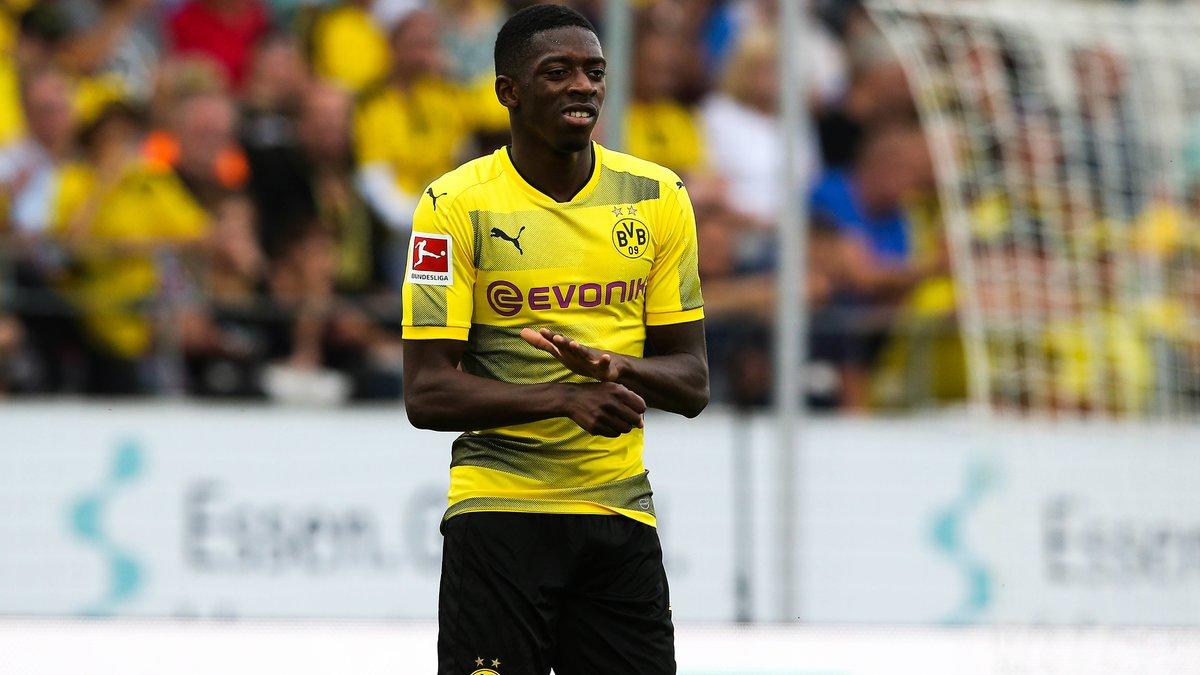 Dembélé suspendu par Dortmund après avoir séché l'entraînement