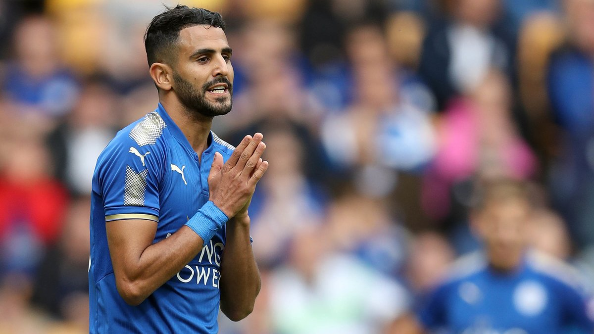 Mahrez va quitter les Foxes — Leicester
