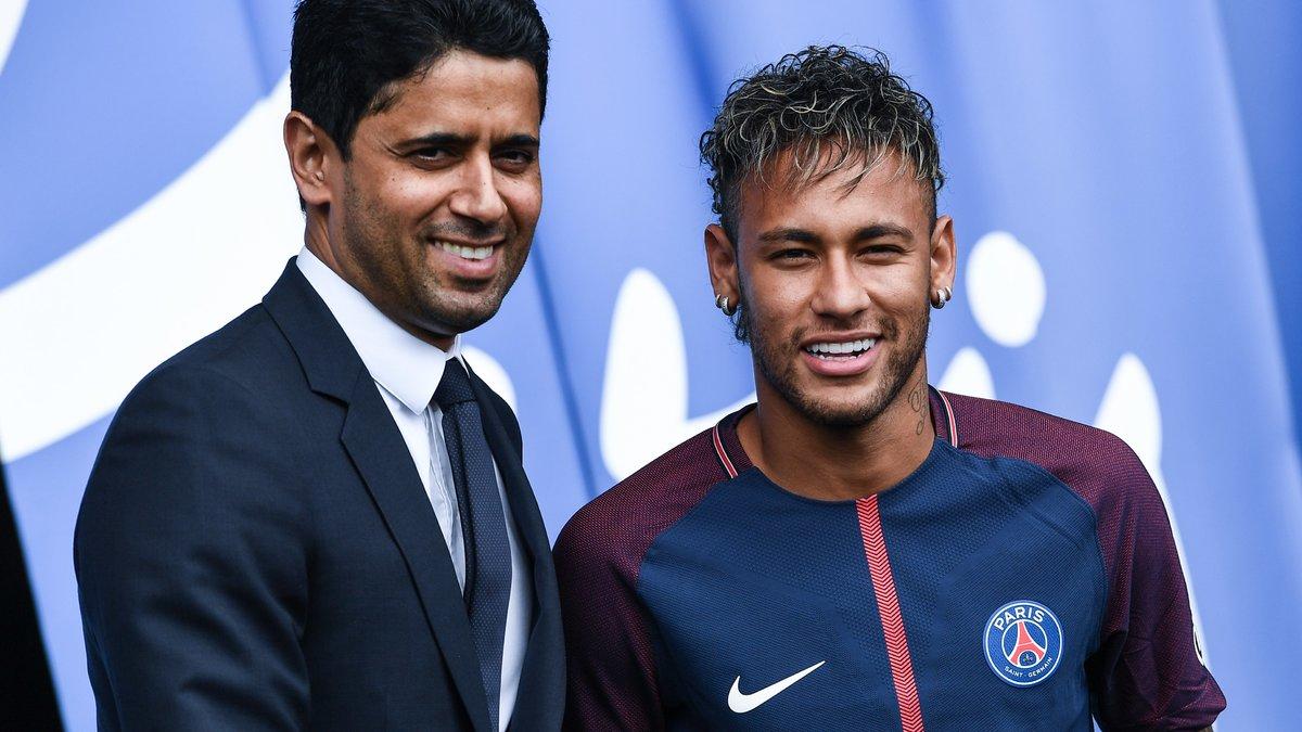 PSG : Nasser Al-Khelaïfi calme la situation après le conflit entre Neymar et Cavani
