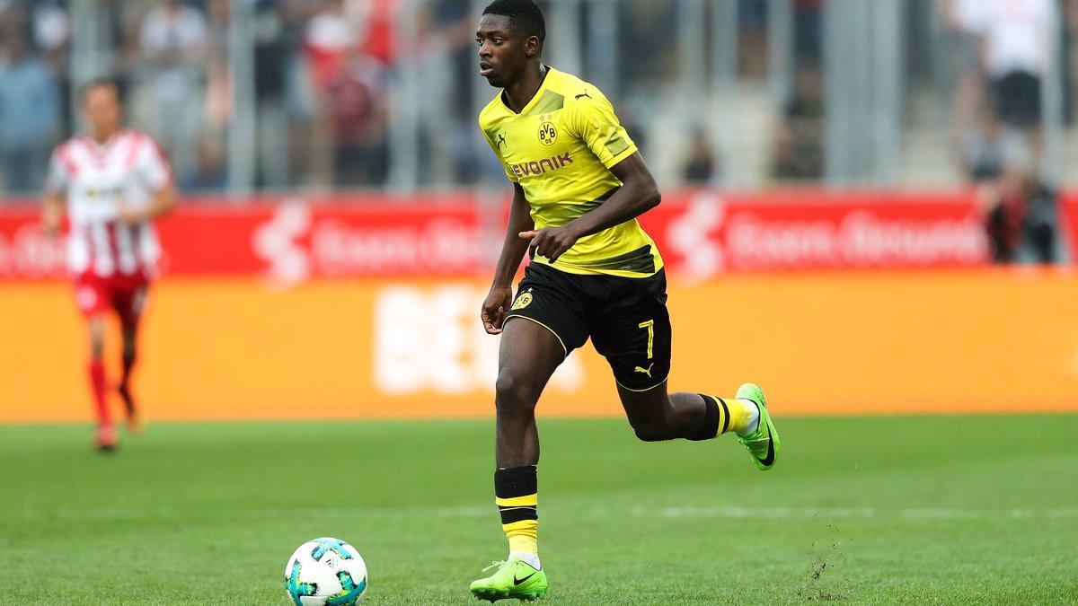 Dortmund : pas d'accord avec le Barça pour Dembélé