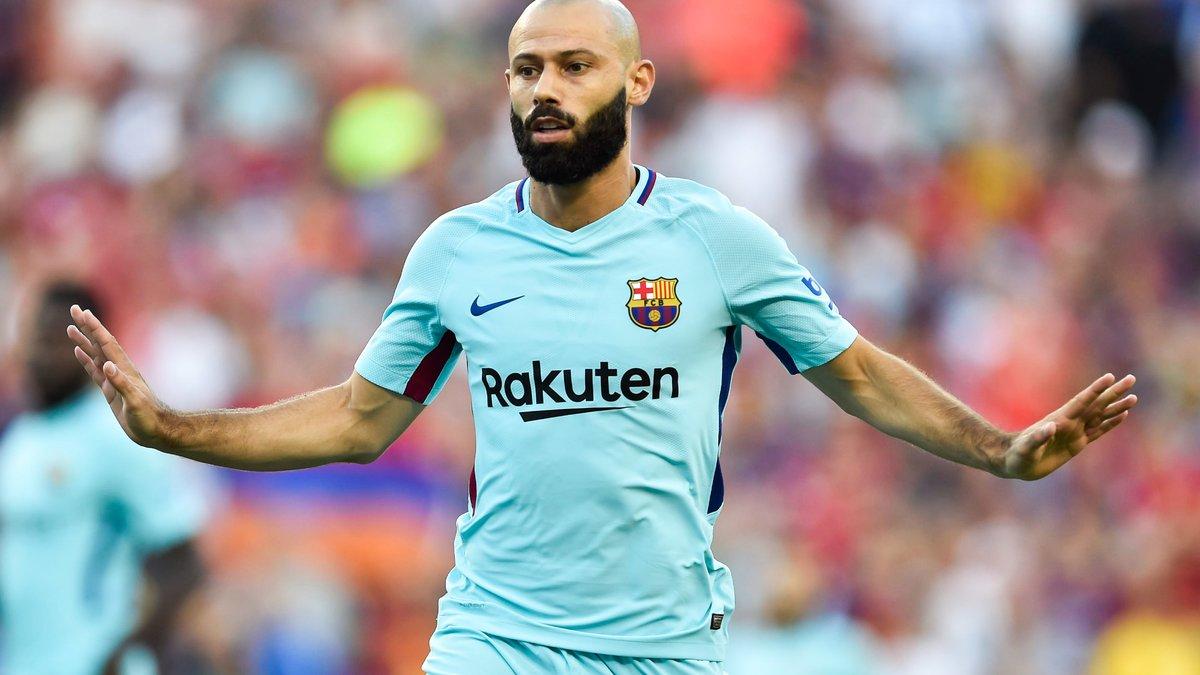 Clap de fin pour Mascherano au Barça