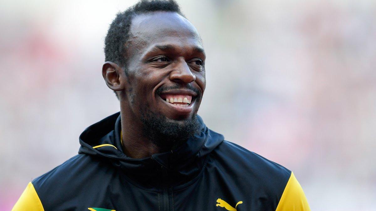 Usain Bolt se blesse pour sa dernière course