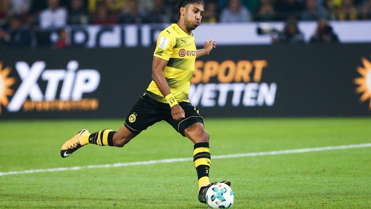 Aubameyang rentre dans la légende du Borussia Dortmund