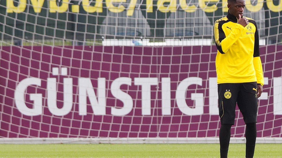 Dortmund tacle violemment le FC Barcelone — DEMBÉLÉ