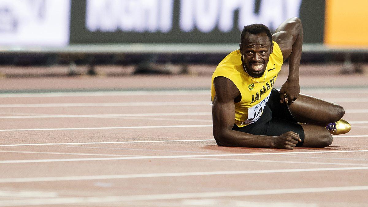 Athlétisme : Usain Bolt privé de son match avec Manchester United