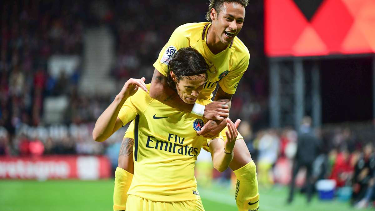 L1 – PSG : Edinson Cavani et Neymar, premières frictions