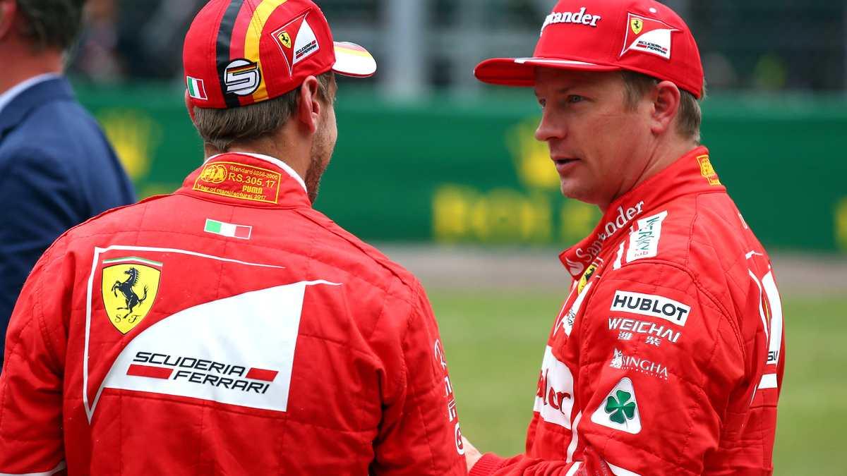Formule1: Kimi Räikkönen resigne chez Ferrari pour la saison 2018!