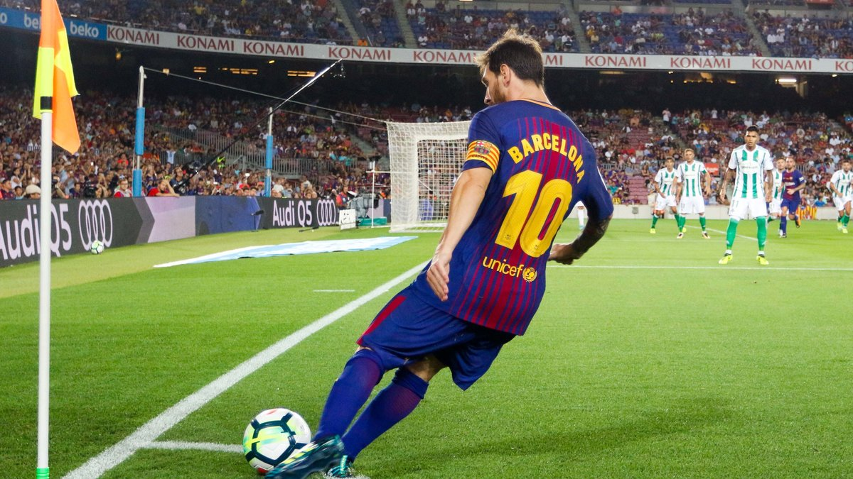 Messi sur le départ — Barça