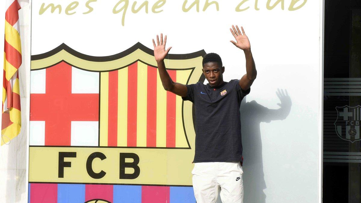 Barça : Tuchel revient sur le choix de Dembélé
