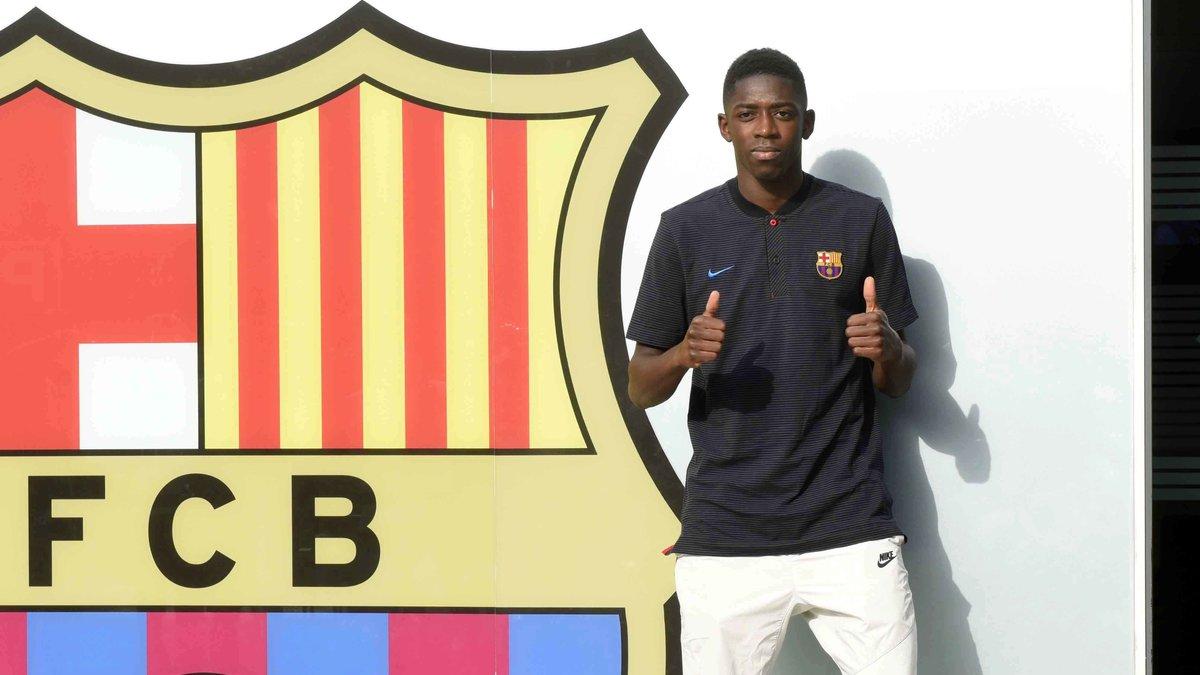 Barça : Dembélé ne se voyait pas défier la MSN à l'été 2016