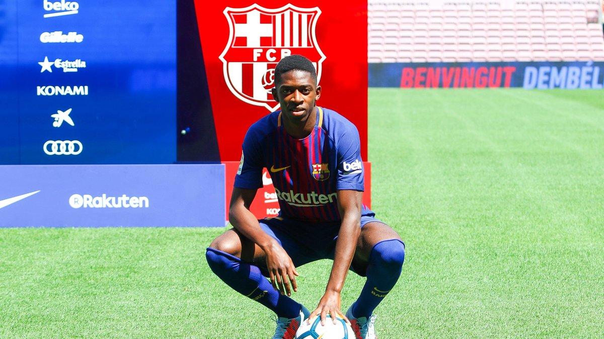 Barça: Ousmane Dembélé a
