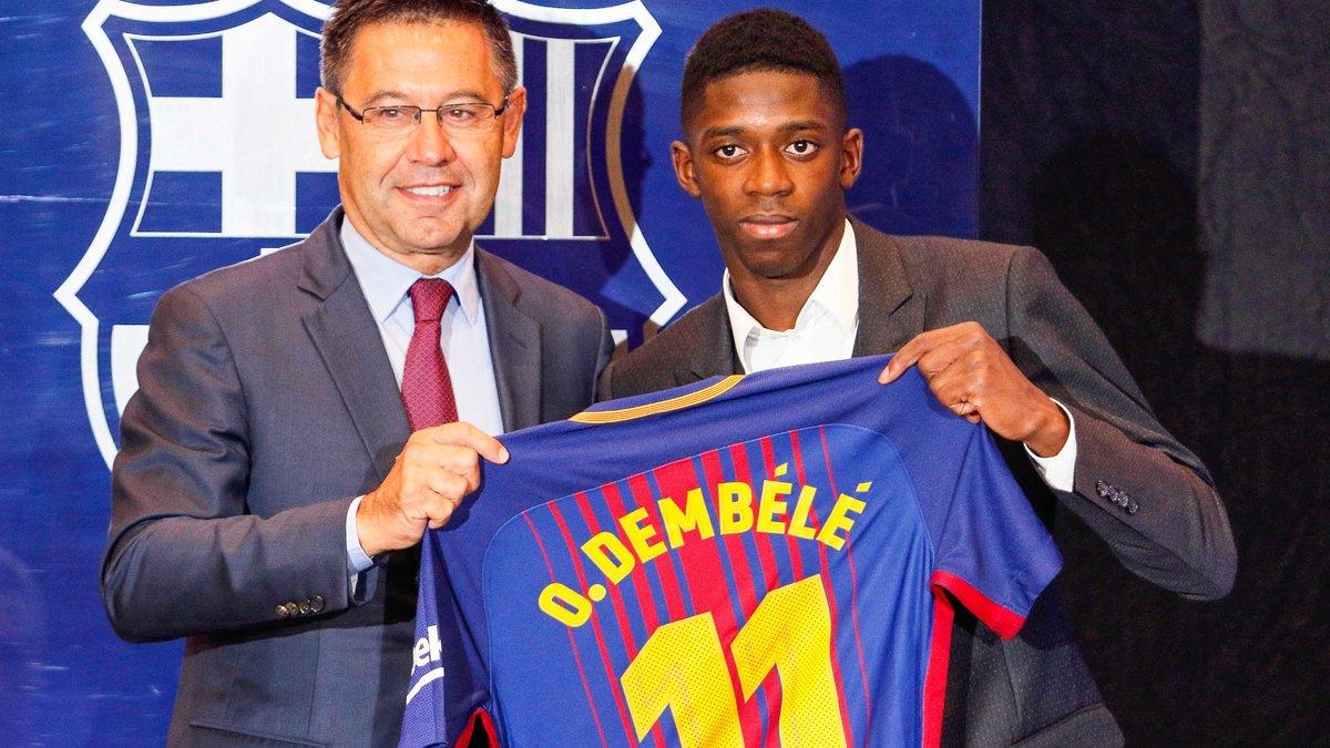 Les clauses secrètes du contrat d'Ousmane Dembélé révélées — Liga