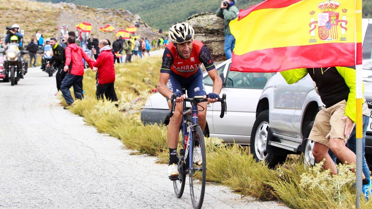 Vincenzo Nibali reste déterminé à détrôner Froome sur la Vuelta