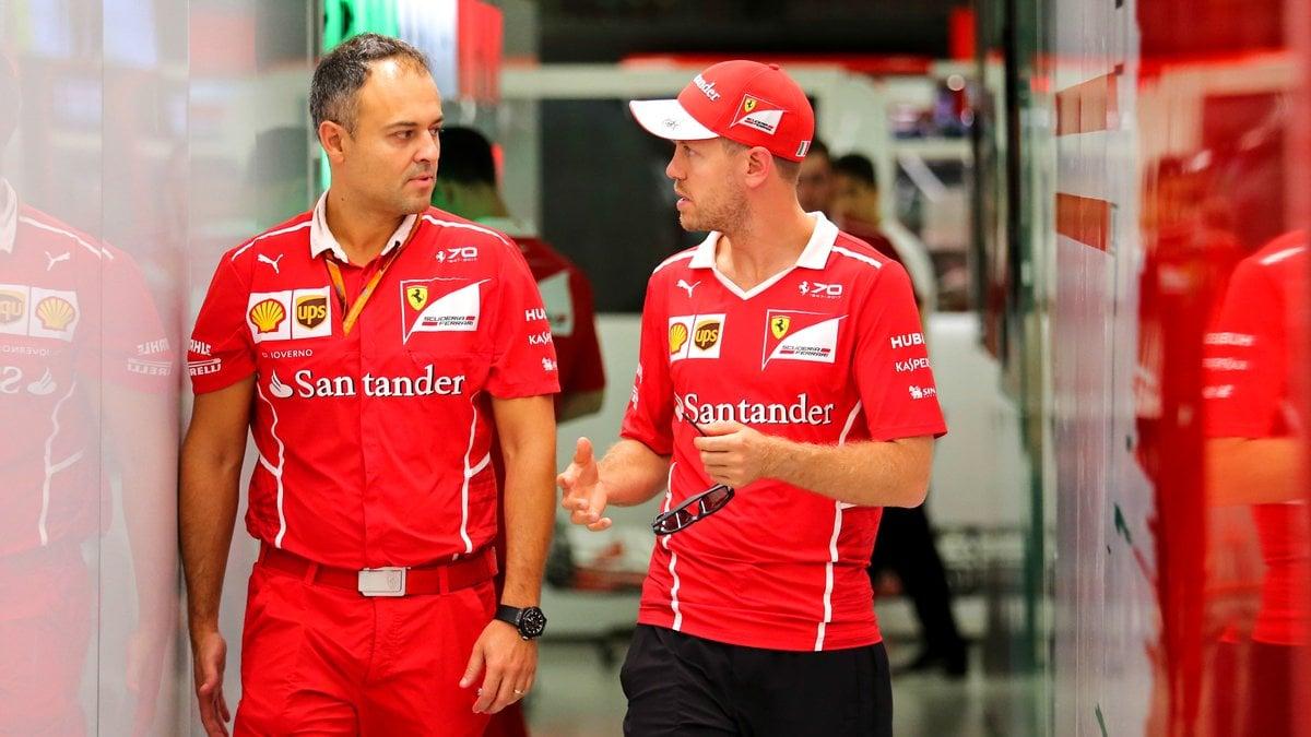 Vettel en pôle devant Verstappen et Ricciardo — GP Singapour