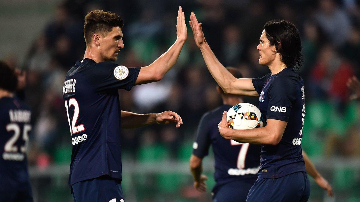 PSG : Cavani, Inzaghi… L'incroyable comparaison de Thomas Meunier