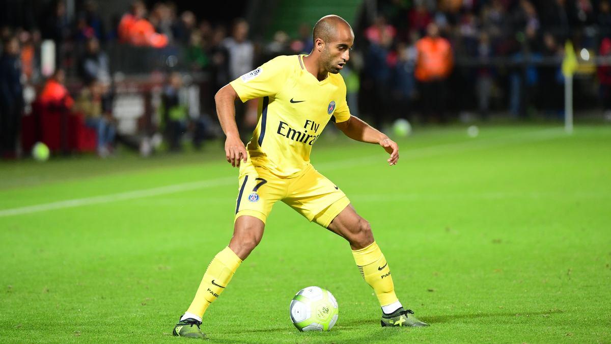 Lucas titulaire à Montpellier — PSG