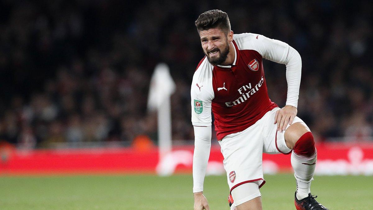 Everton, OM, OL… Giroud évoque ses pistes de l'été — Arsenal