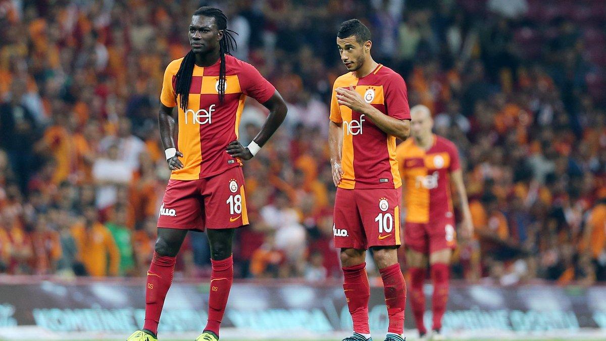 Belhanda tacle l'OM — Galatasaray