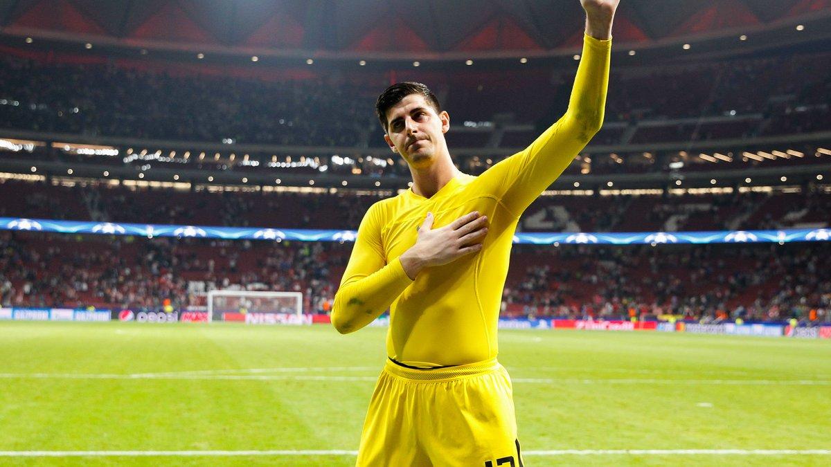 Real Madrid : Le président de l'Atlético Madrid s'exprime sur l'avenir de Courtois