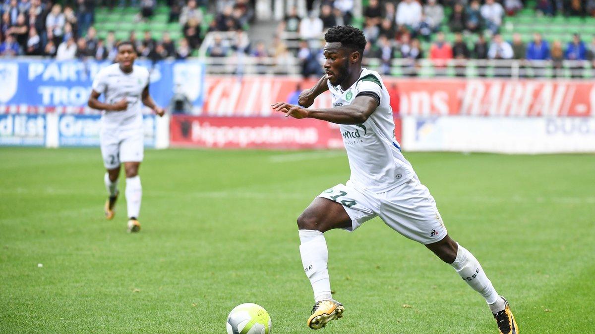 Bamba est bien retenu pour affronter Strasbourg — St-Etienne