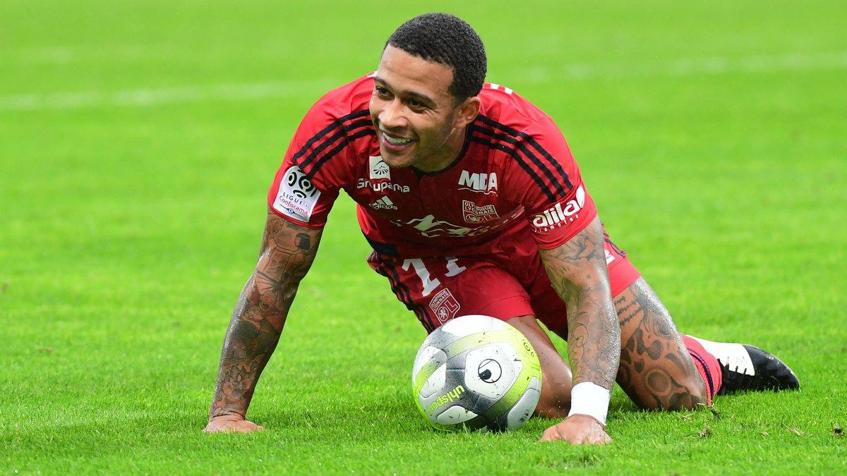 Jouer au Real, l'ambition de Depay — Lyon