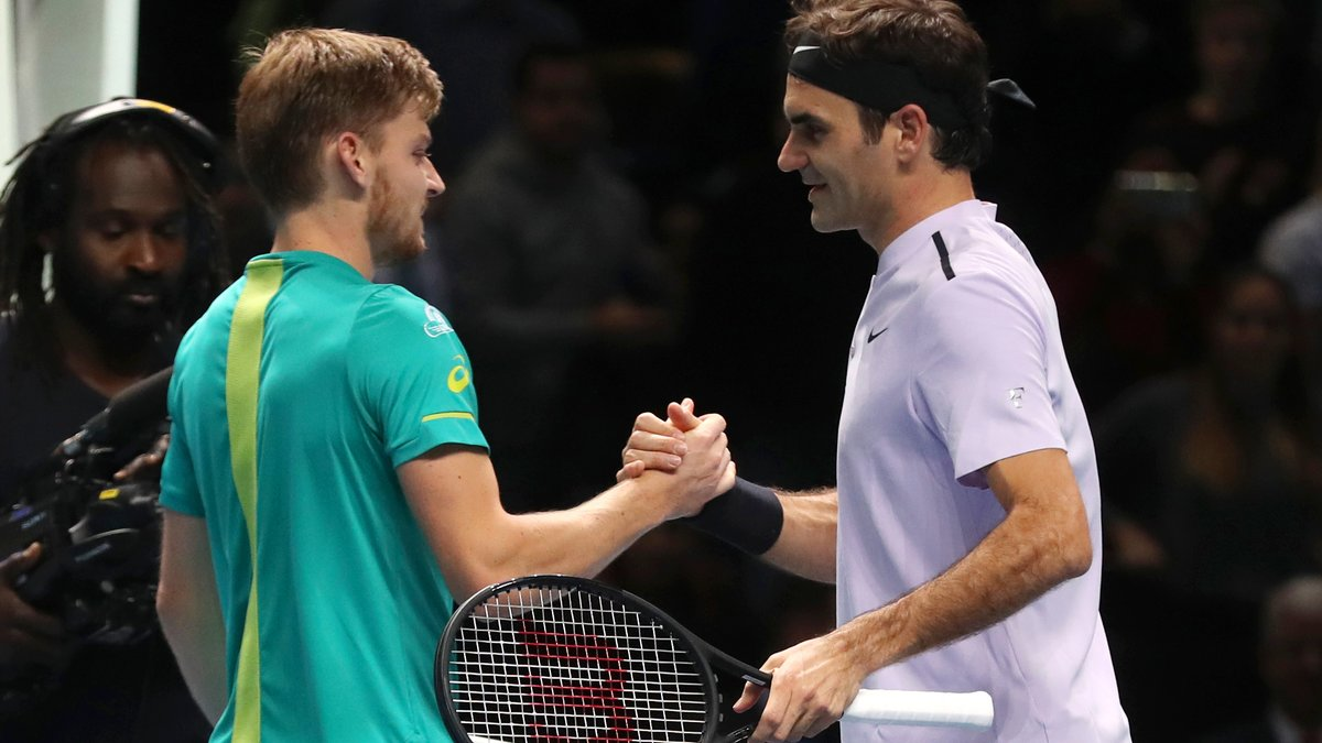 Tennis - Masters   Roger Federer rend hommage à David Goffin après son  élimination 19fa6e2419bd
