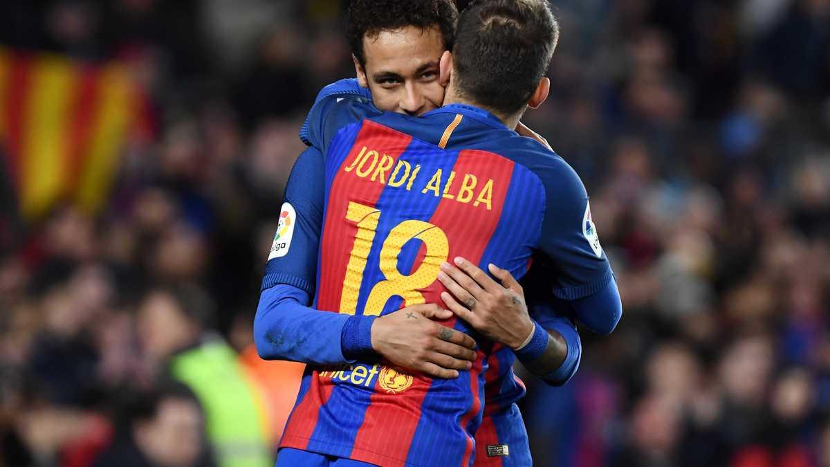PSG : Jordi Alba évoque à nouveau le départ de Neymar