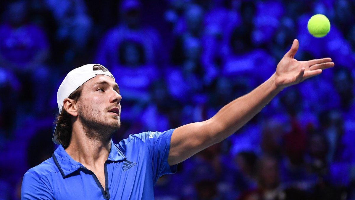 Coupe Davis: Herbert s'est entraîné en simple, Mahut et Benneteau en double