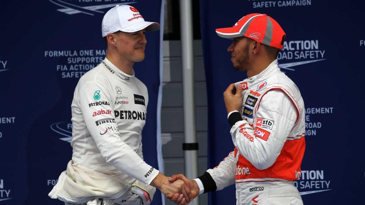 Formule 1 : Cette comparaison osée entre Schumacher et Hamilton !