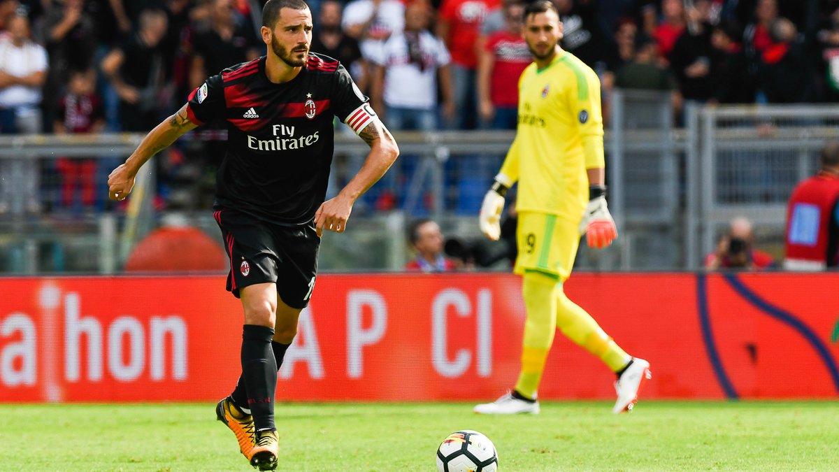 Leonardo Bonucci déjà sur le départ — Milan AC
