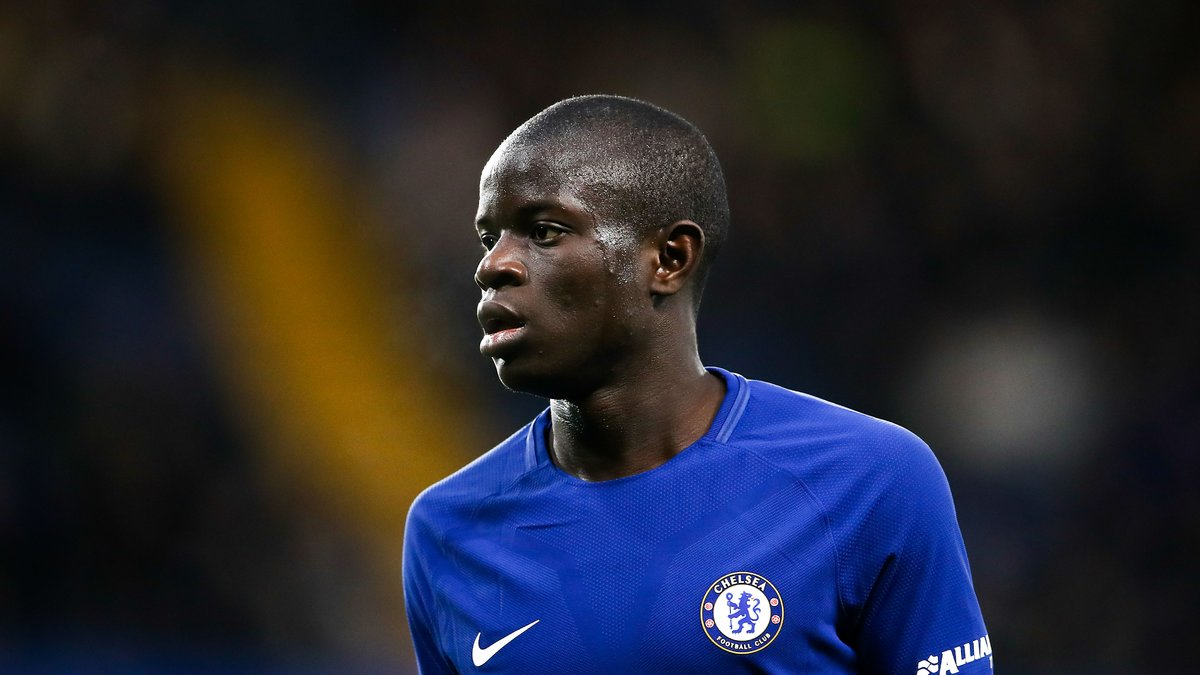 N'Golo Kanté élu joueur français de l'année