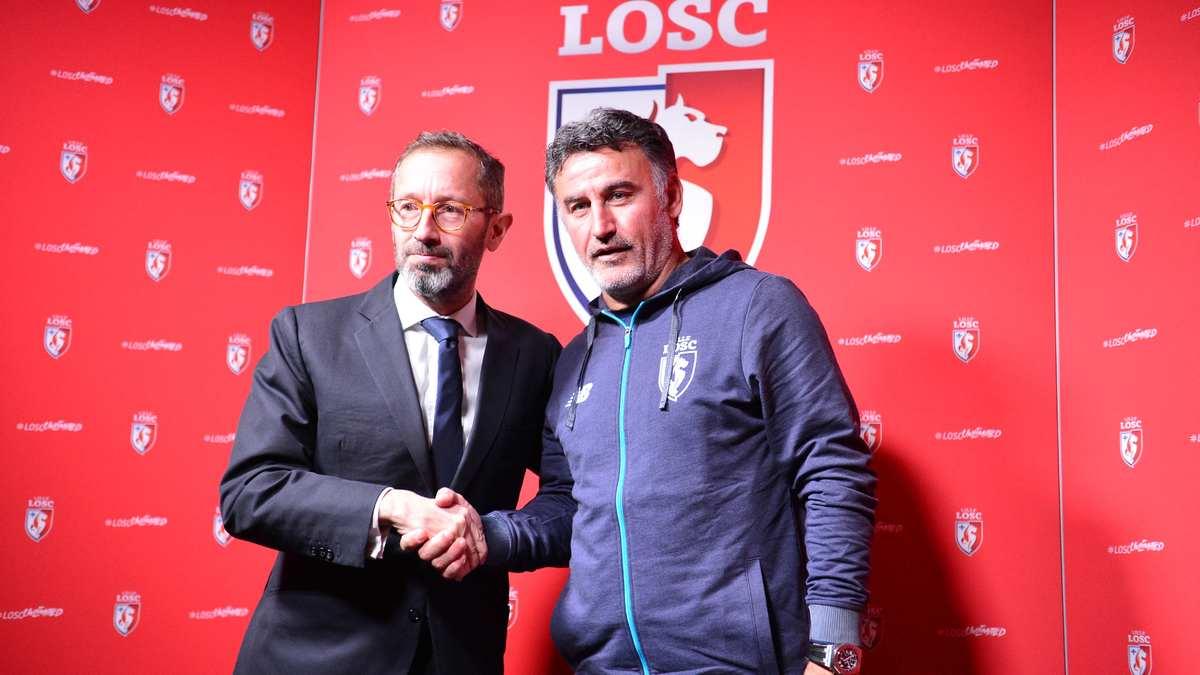 Attaqué, Galtier dénonce les choix de l'ASSE — LOSC