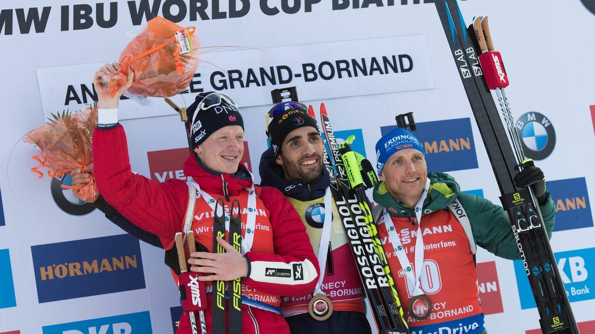Le sprint magistral de Fourcade — Oberhof