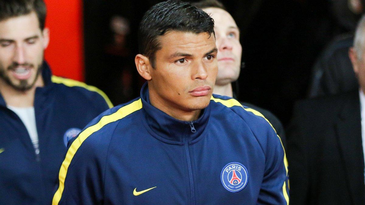 Thiago Silva, capitaine du PSG, a des critiques à faire taire