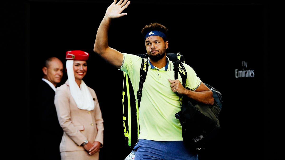 Open d'Australie : Quand Jo-Wilfried Tsonga pète les plombs face à Nick Kyrgios
