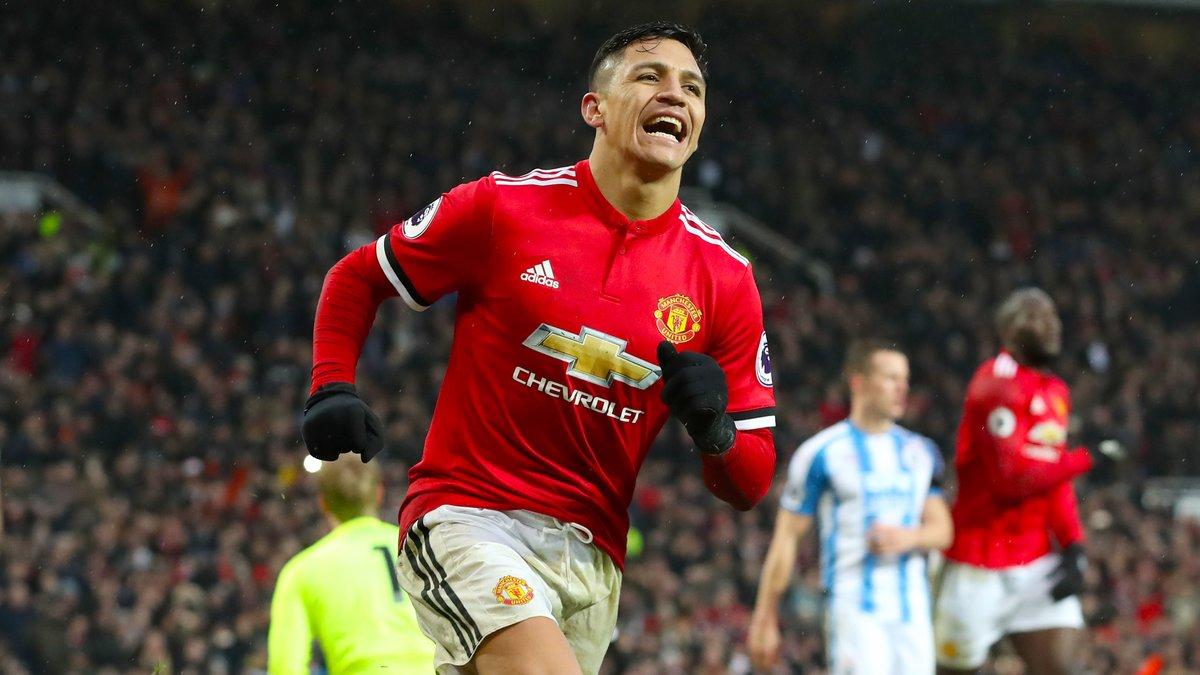 Maillot Domicile Manchester United Alexis Sánchez