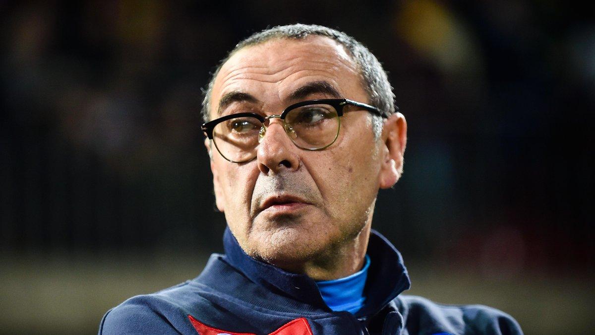 Chassé-croisé entre Conte et Sarri — Chelsea