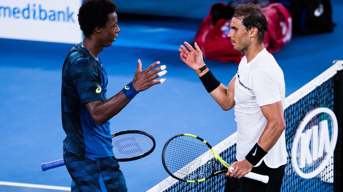 Tennis : Quand Gaël Monfils s'enflamme pour… Rafael Nadal !