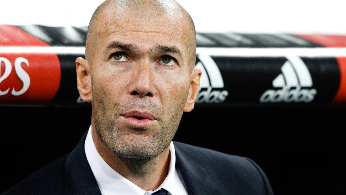 La compo officielle de Zidane pour battre le PSG — Real Madrid
