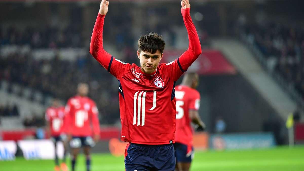 Lille rejoint Lyon sur la fin