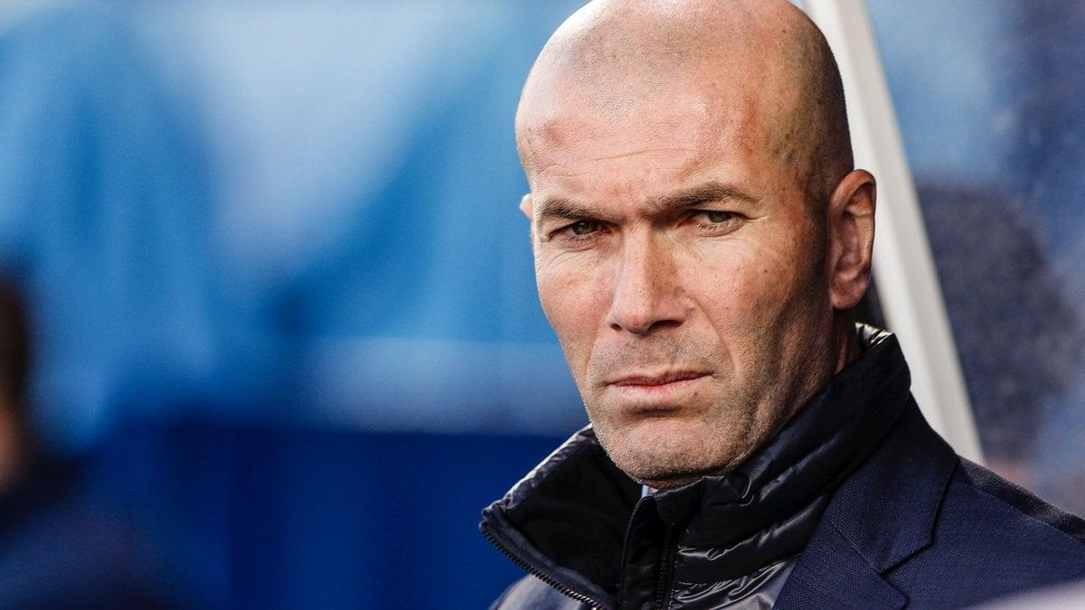 Zidane s'enflamme après le but de Ronaldo — Real Madrid