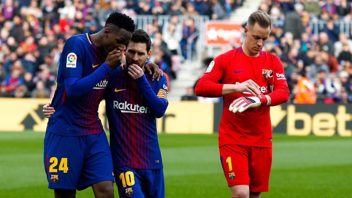 Football: L'émouvante révélation de Yerry Mina sur son intégration au Barça