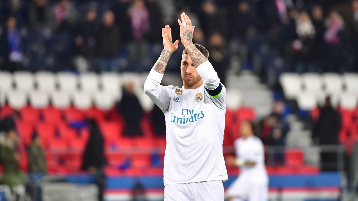 L'envie pressante de Sergio Ramos en plein match — Real Madrid