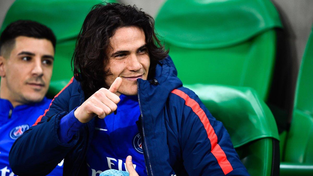 PSG : Cet attaquant de Ligue 1 qui s'enflamme pour Edinson Cavani