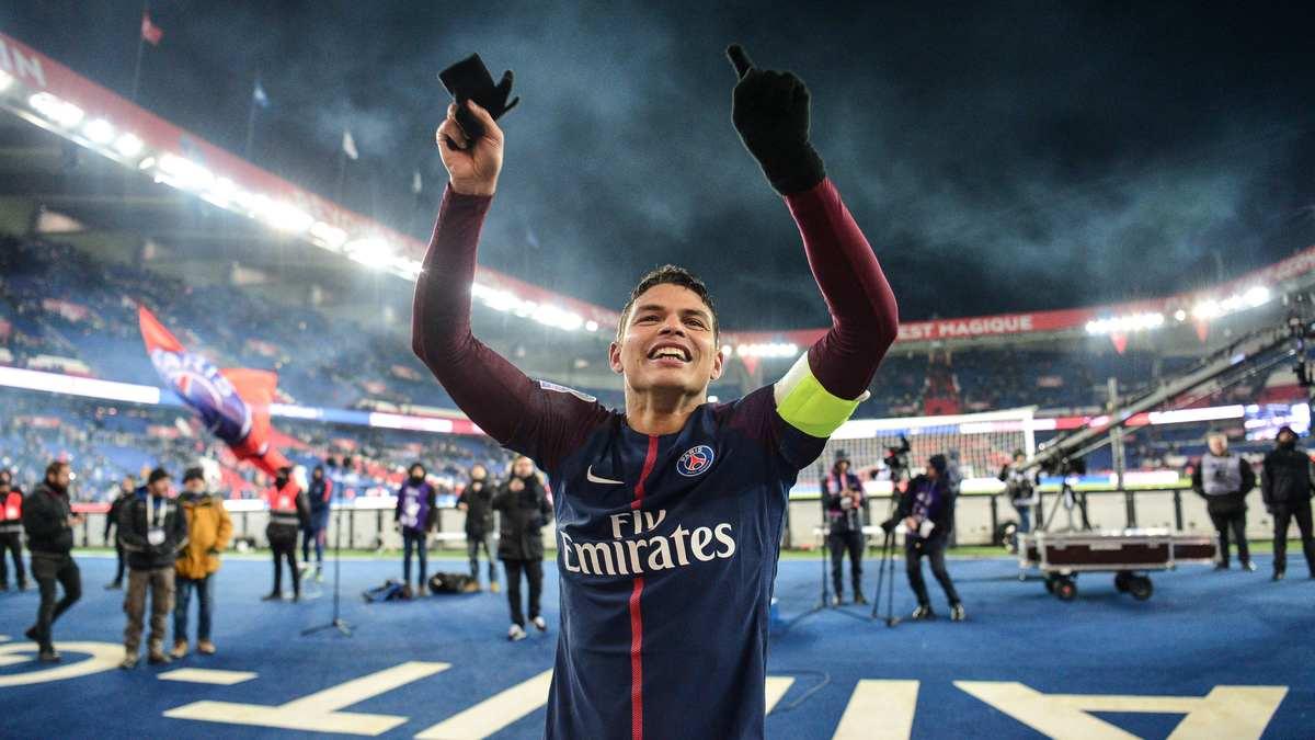 Thiago Silva veut le maintien d'Unai Emery — PSG