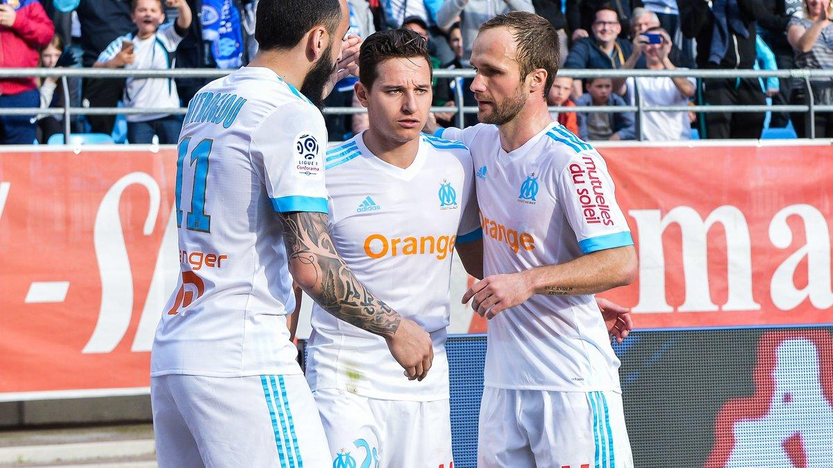 Luiz Gustavo en défense, Mitroglou titulaire (la compo de l'OM) — Europa League