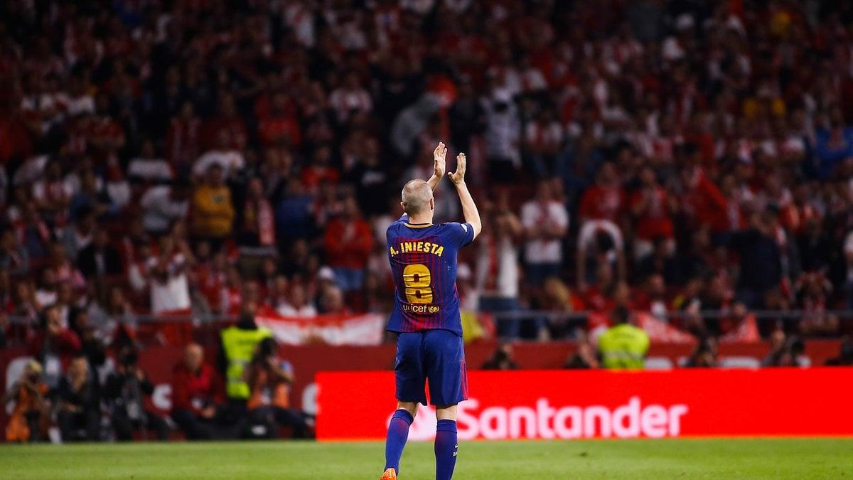 Le vibrant hommage de Guardiola à Iniesta — FC Barcelone