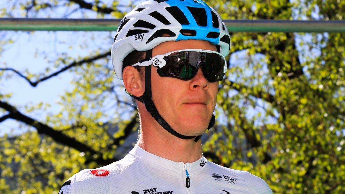 Froome chute à l'entraînement — Tour d'Italie