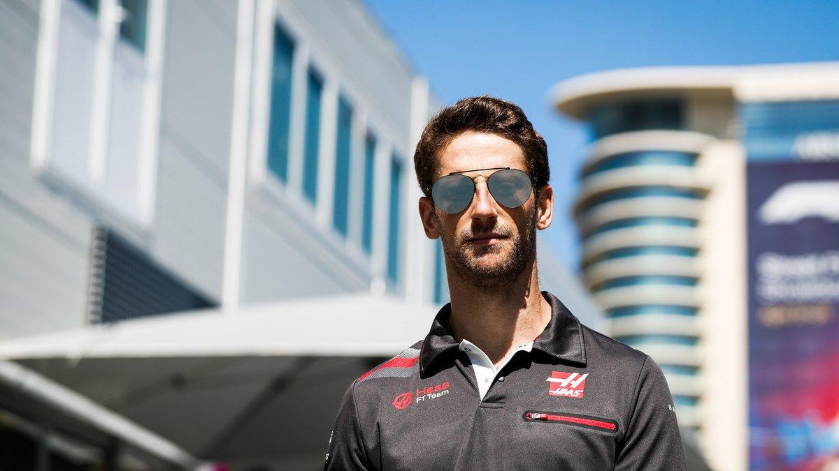 Trois places de pénalité à Monaco pour Romain Grosjean — GP d'Espagne