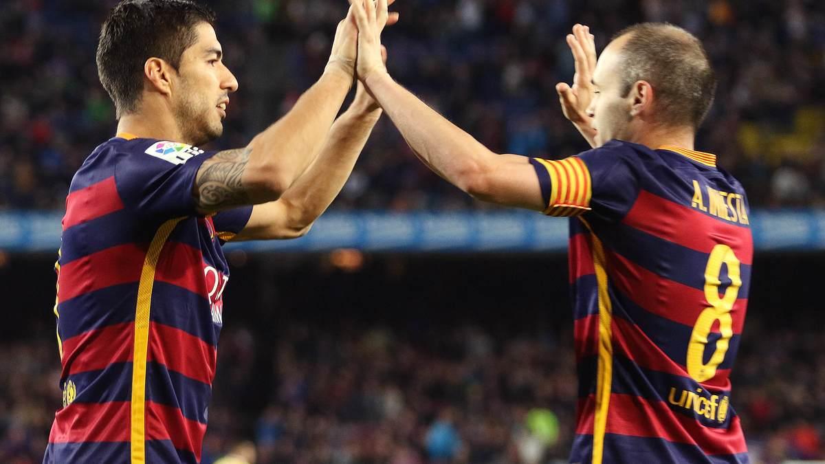Messi et le FC Barcelone champions d'Espagne